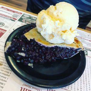 Helen's Blueberry Pie